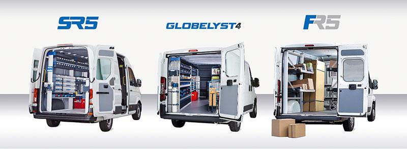 Sortimo bilinredning SR5, Globelyst4. FR5